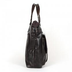 Сумка-портфель из натуральной кожи. 02-260