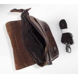 Сумка кросс-боди из натуральной кожи. 02-8000