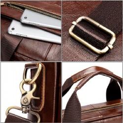 Сумка-портфель из натуральной кожи. 02-8523.