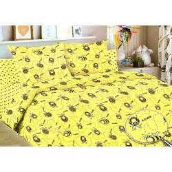 Детский комплект постельного белья Жу-жу. 1,5 спальный, Бязь