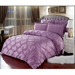 Комплект постельного белья E-shine Silk. Сирень.