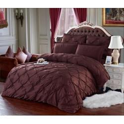 Комплект постельного белья E-shine Silk. Шоколад.