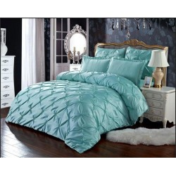 Комплект постельного белья E-shine Silk. Салатовый.