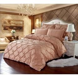 Комплект постельного белья E-shine Silk. Кремовый.