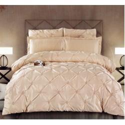 Комплект постельного белья E-shine Silk. Кремовый-1.